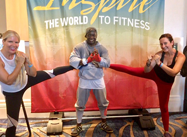 Billy Blanks Creator of TAE BO exercise program